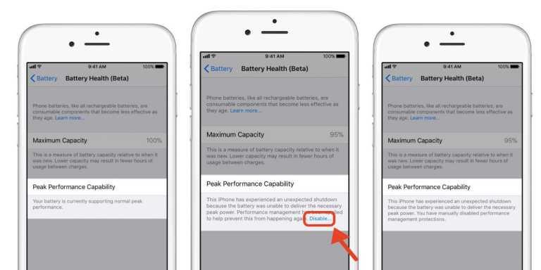 Cách kiểm tra pin chai và vô hiệu hóa hiệu suất pin của iPhone trong iOS 11.3